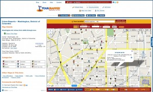 Washington DC Crime on Your Mapper