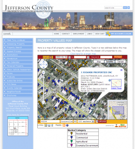 Property Valuation Administrator - Property Value Map