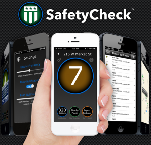 SafetyCheck Local iPhone App