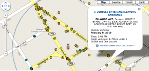 KY Car Accident Map