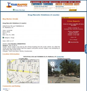 Location Page with More Details