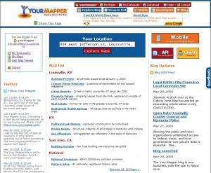 Your Mapper Home Page